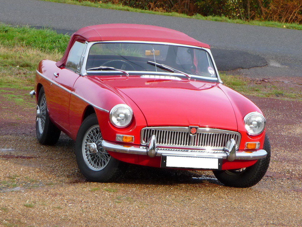 mgb roadster mg b occasion tartan red 1963 pull handles annonce vente video mgb. Black Bedroom Furniture Sets. Home Design Ideas