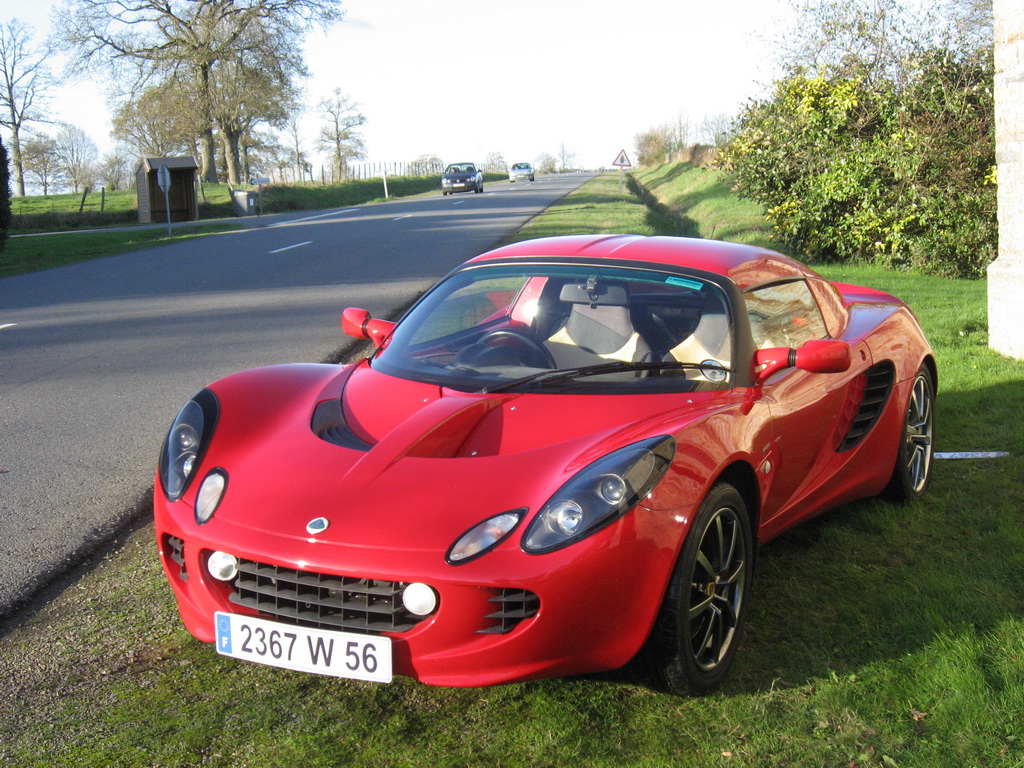 lotus elise 111s occasion s2 ardent red annonce vente video elise british. Black Bedroom Furniture Sets. Home Design Ideas