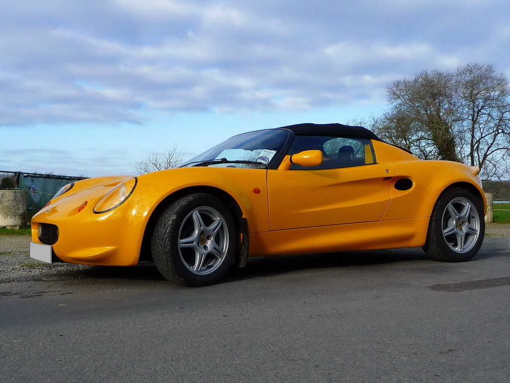 lotus elise s1 occasion 120 cv norfolk yellow