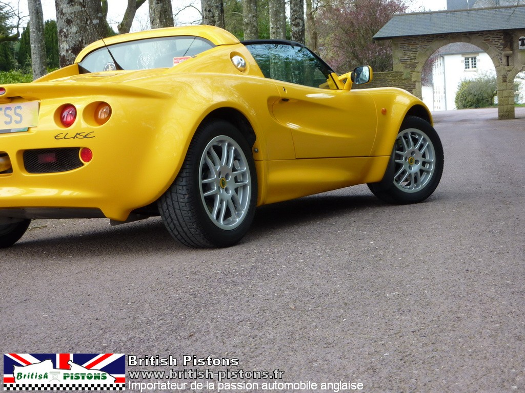 lotus elise s1 occasion mk1 120cv norfolk yellow annonce. Black Bedroom Furniture Sets. Home Design Ideas