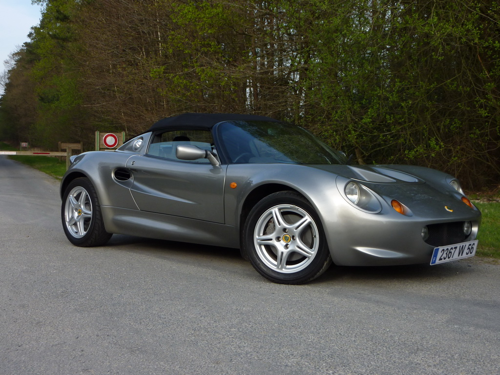 lotus elise s1 occasion mk1 120cv titanium grey annonce vente elise british. Black Bedroom Furniture Sets. Home Design Ideas