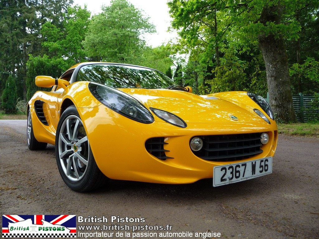 lotus elise s2 111s occasion safran yellow mk2 annonce. Black Bedroom Furniture Sets. Home Design Ideas