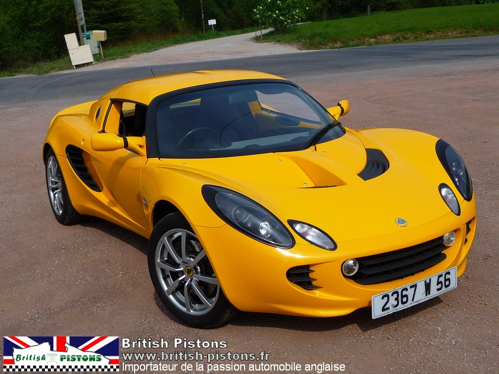 lotus elise s2 111s occasion safran yellow mk2 annonce vente elise british. Black Bedroom Furniture Sets. Home Design Ideas