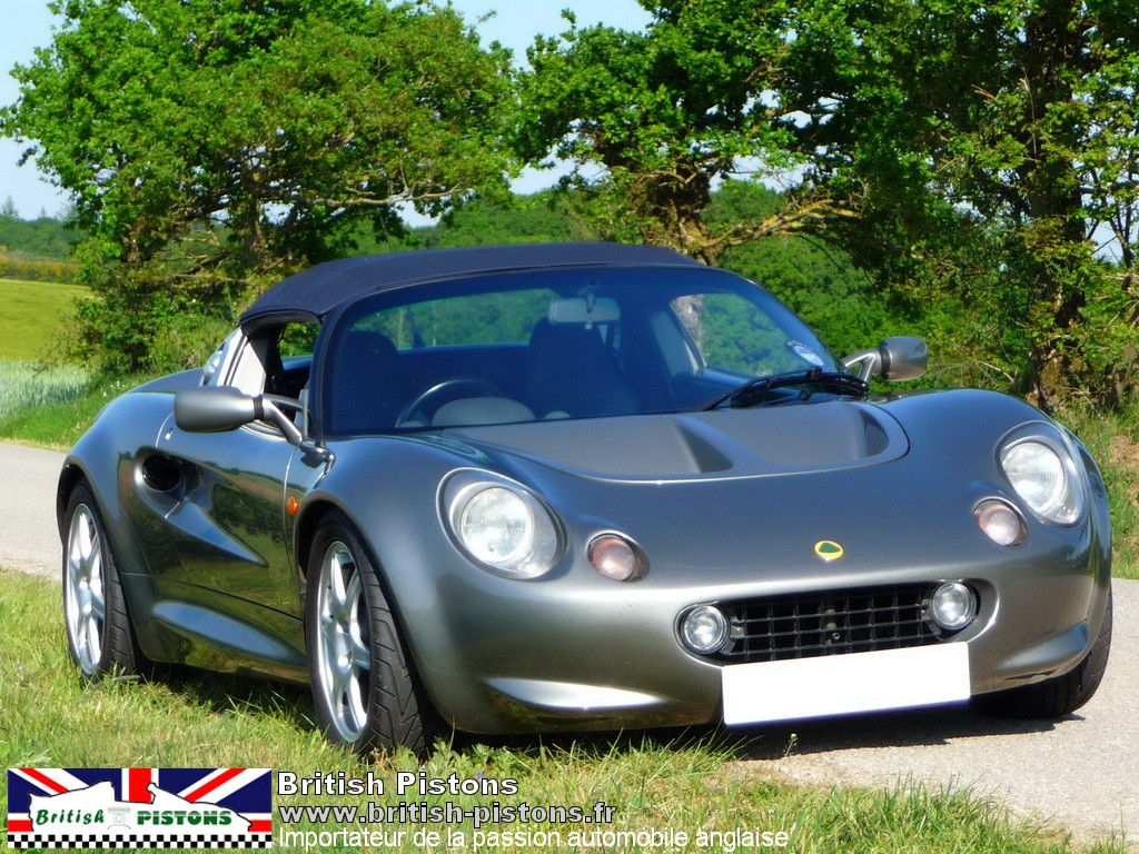 lotus elise s1 111s occasion titanium grey mk1 annonce vente elise british. Black Bedroom Furniture Sets. Home Design Ideas