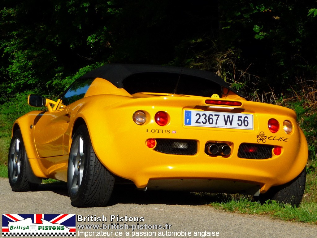 lotus elise occasion s1 mustar yellow mk1 annonce vente. Black Bedroom Furniture Sets. Home Design Ideas