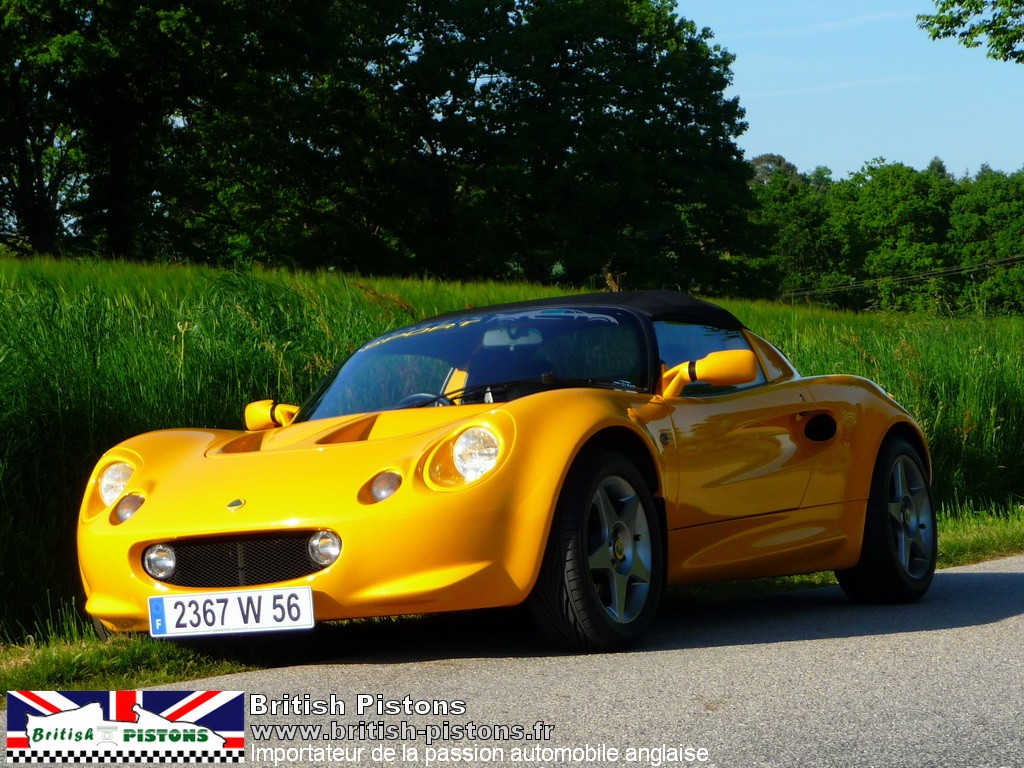 lotus elise occasion s1 mustar yellow mk1 annonce vente elise british. Black Bedroom Furniture Sets. Home Design Ideas