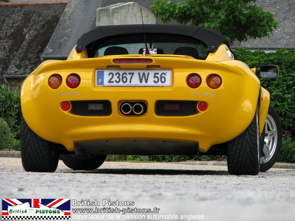 lotus elise occasion s1 mustar yellow annonce vente. Black Bedroom Furniture Sets. Home Design Ideas