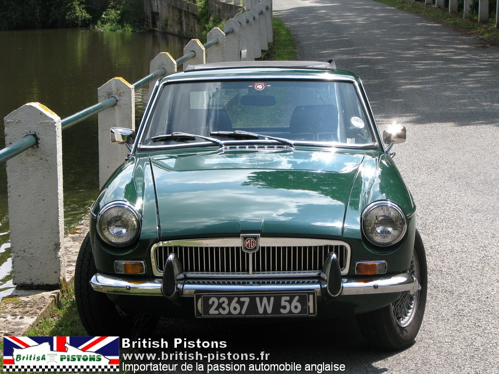 mgb gt occasion mg b gt 1969 british racing green annonce vente mgb british. Black Bedroom Furniture Sets. Home Design Ideas