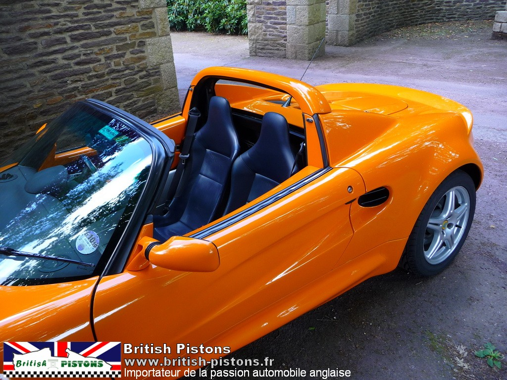 lotus elise occasion s1 chrome orange mmc annonce vente elise british. Black Bedroom Furniture Sets. Home Design Ideas