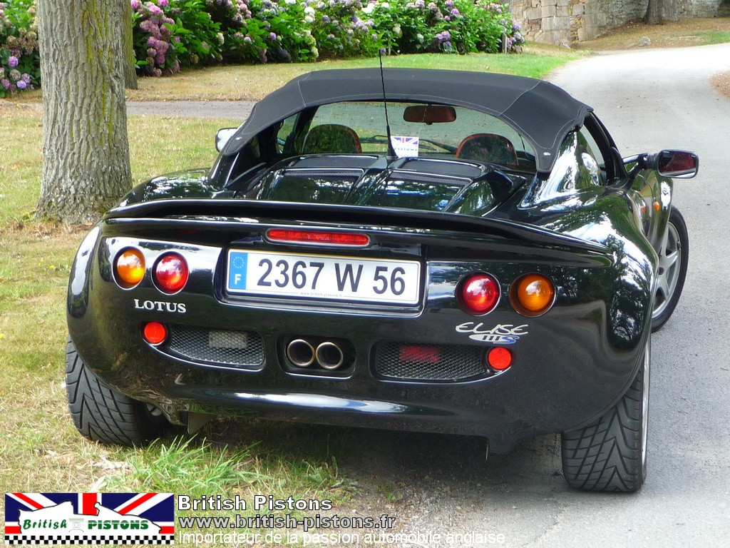 lotus elise 111s occasion s1 noire annonce vente elise british annonces lotus. Black Bedroom Furniture Sets. Home Design Ideas