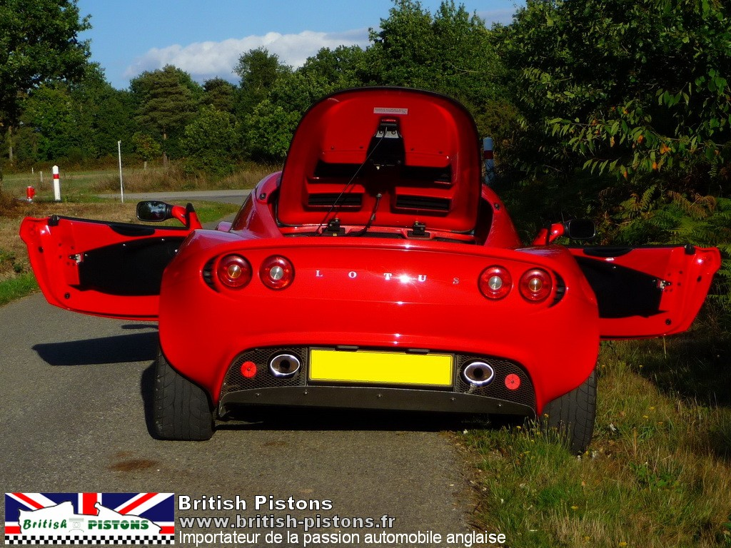 lotus elise occasion s2 ardent red annonce vente elise british annonces lotus. Black Bedroom Furniture Sets. Home Design Ideas