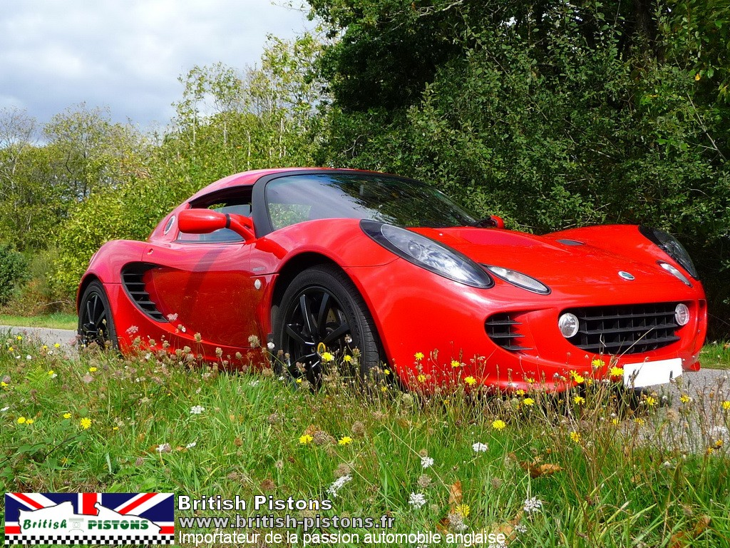 lotus elise 111s occasion s2 ardent red annonce vente elise british annonces. Black Bedroom Furniture Sets. Home Design Ideas