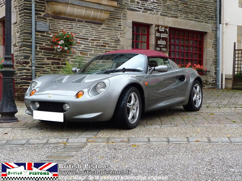 lotus elise occasion s1 titanium grey annonce vente elise british annonces. Black Bedroom Furniture Sets. Home Design Ideas