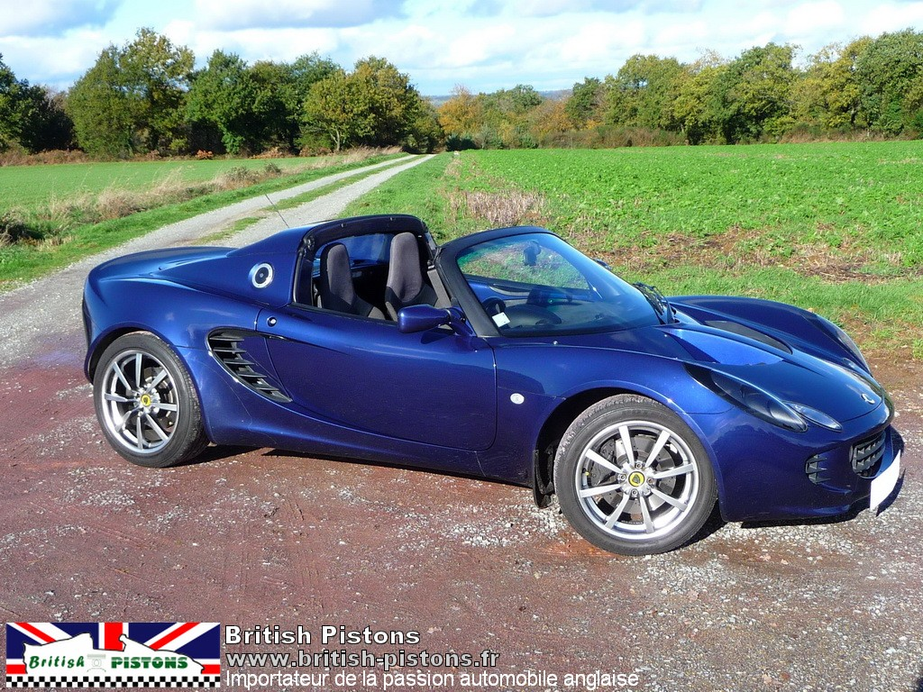 lotus elise 111s occasion s2 cobalt blue annonce vente elise british annonces. Black Bedroom Furniture Sets. Home Design Ideas
