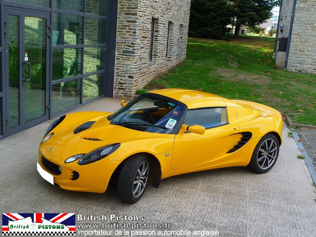 lotus elise 111s occasion s2 safran yellow annonce vente elise british. Black Bedroom Furniture Sets. Home Design Ideas