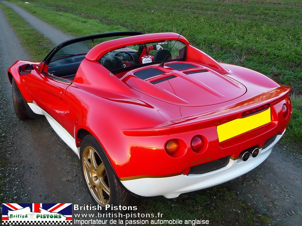 lotus elise type 49 occasion s1 annonce vente elise british annonces lotus. Black Bedroom Furniture Sets. Home Design Ideas