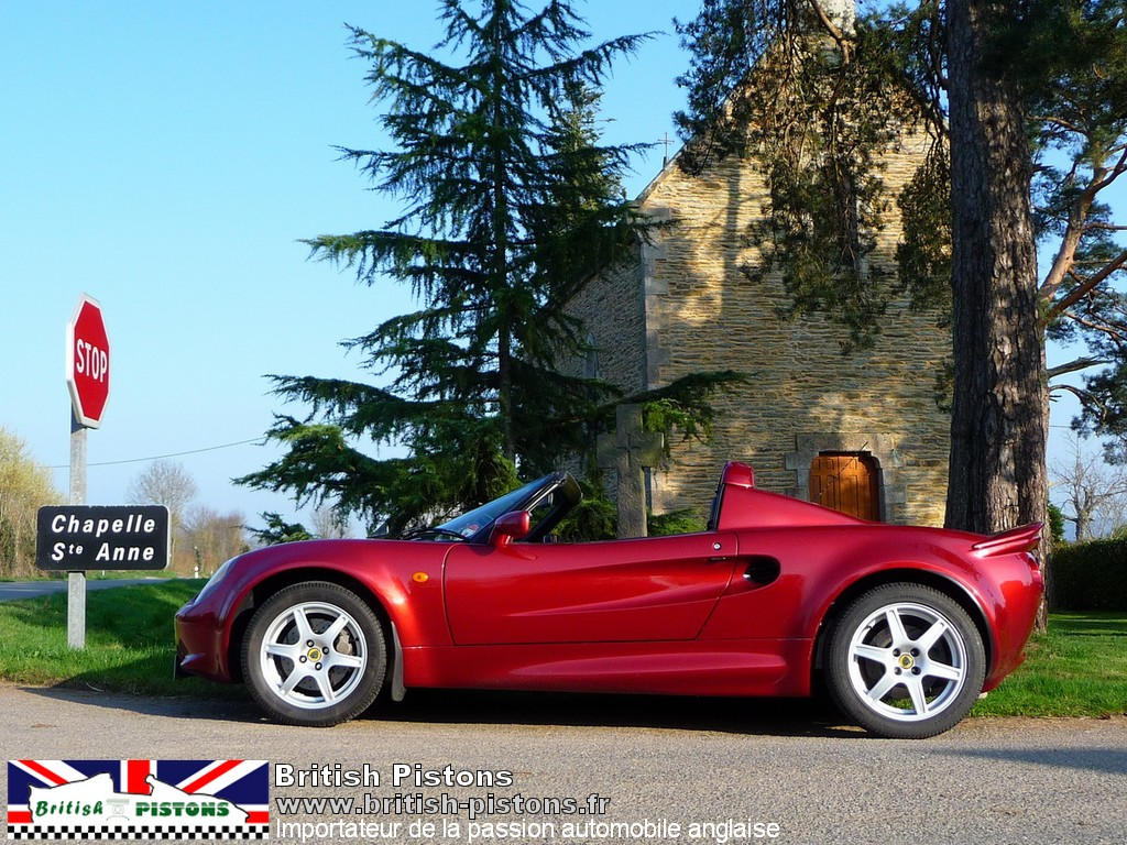 lotus elise 111s occasion s1 inferno red 145 cv