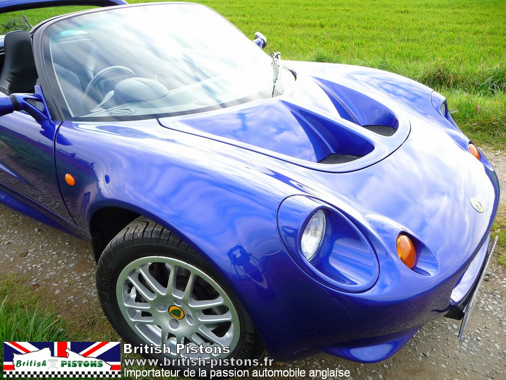 lotus elise occasion s1 azure blue annonce vente elise british annonces lotus. Black Bedroom Furniture Sets. Home Design Ideas