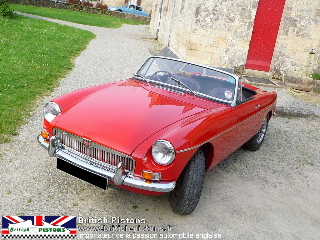 mgb occasion roadster mg b 1967 tartan red annonce vente mgb british annonces. Black Bedroom Furniture Sets. Home Design Ideas