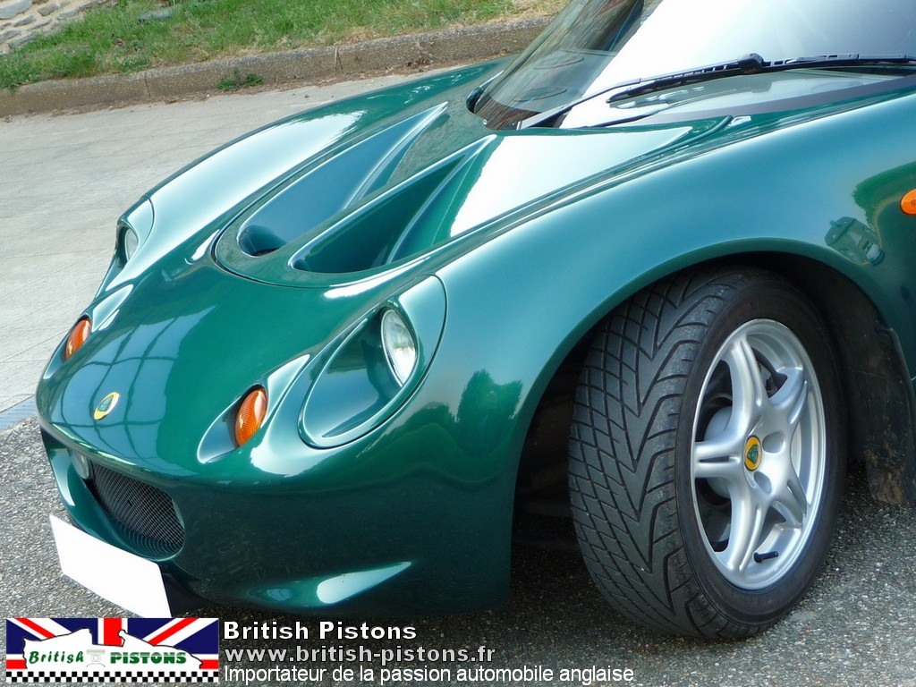 lotus elise occasion s1 mmc british racing green annonce. Black Bedroom Furniture Sets. Home Design Ideas