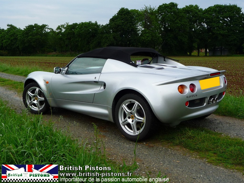 lotus elise occasion s1 silver annonce vente elise british annonces lotus. Black Bedroom Furniture Sets. Home Design Ideas