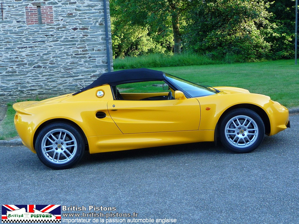 lotus elise occasion s1 norfolk yellow annonce vente. Black Bedroom Furniture Sets. Home Design Ideas