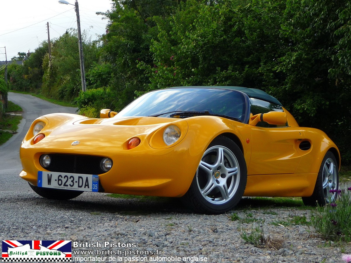 lotus elise occasion s1 mmc norfolk mustar yellow annonce vente elise british. Black Bedroom Furniture Sets. Home Design Ideas