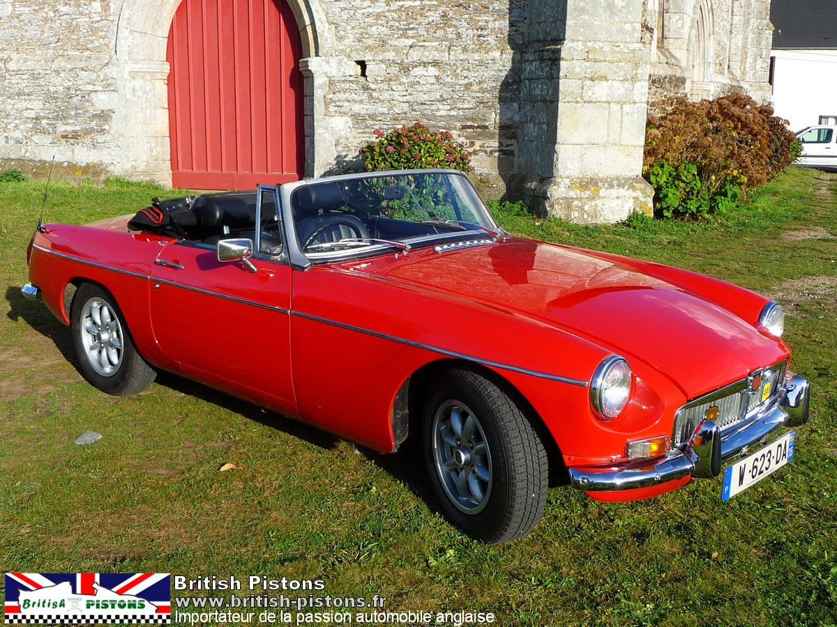 mgb occasion roadster mg b 1973 flame red annonce vente mgb british annonces. Black Bedroom Furniture Sets. Home Design Ideas