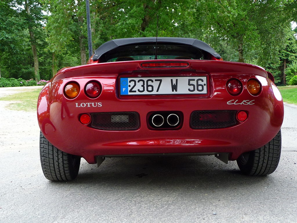annonce vente lotus elise mk1 s1 120 cv inferno red