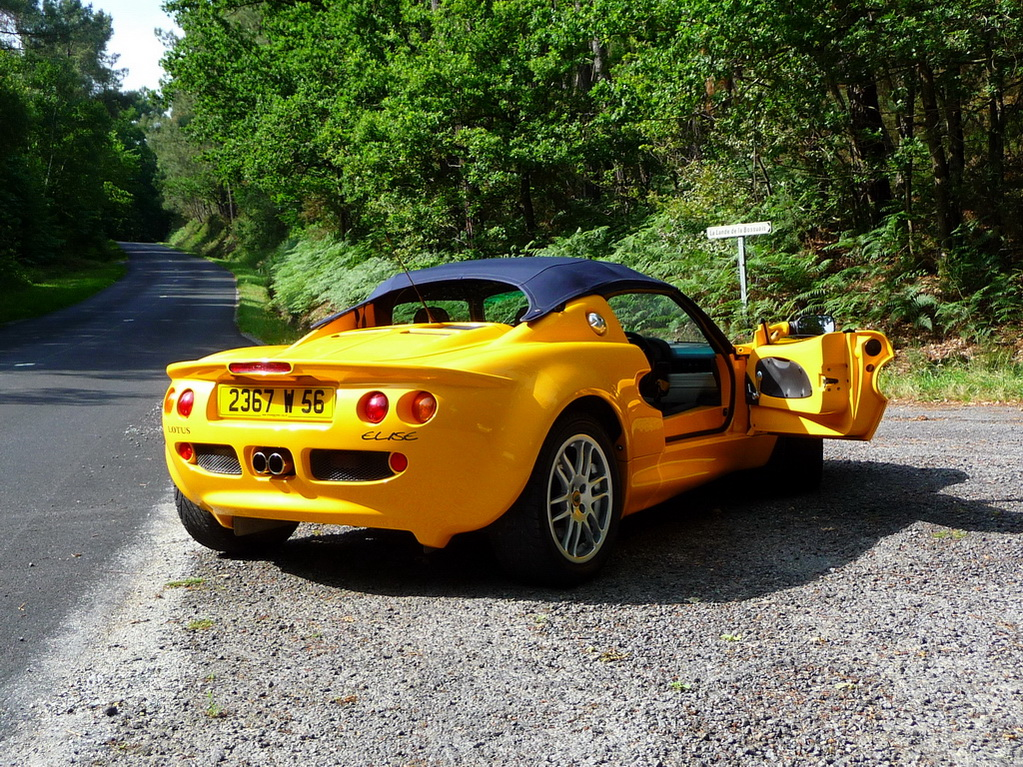 annonce vente lotus elise s1 norfolk yellow 120 cv video exclusive elise british. Black Bedroom Furniture Sets. Home Design Ideas