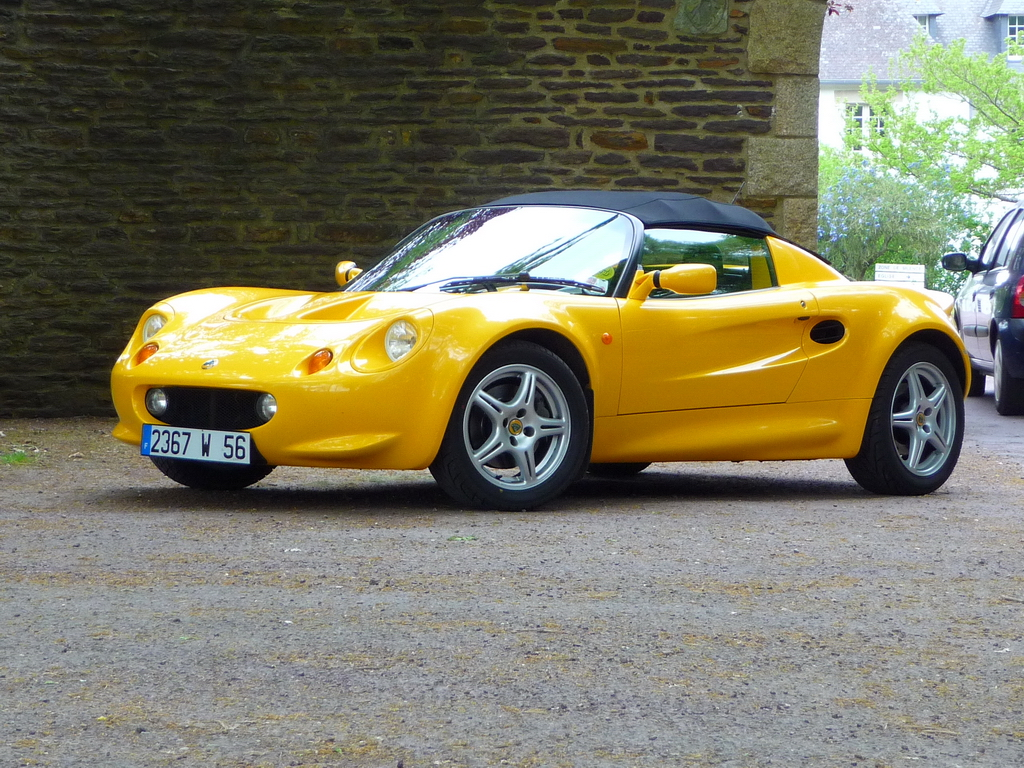 annonce vente lotus elise mk1 111 norfolk yellow 120 cv video exclusive elise british. Black Bedroom Furniture Sets. Home Design Ideas