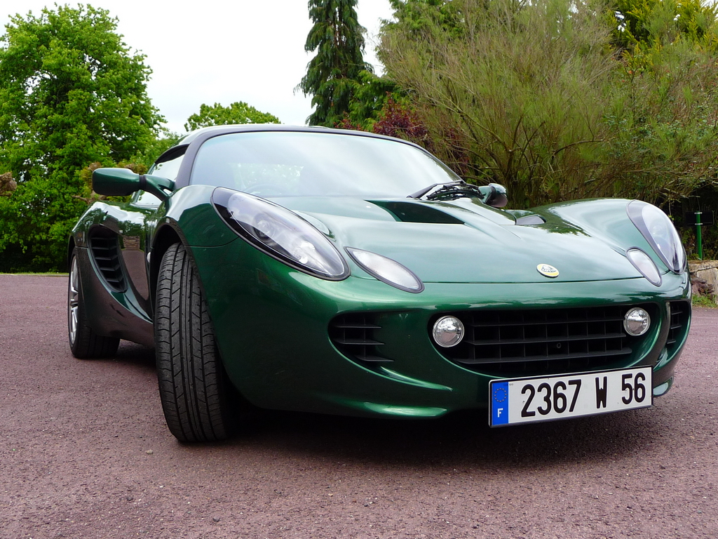 annonce vente lotus elise s2 111s racing green 160 cv video exclusive elise british. Black Bedroom Furniture Sets. Home Design Ideas