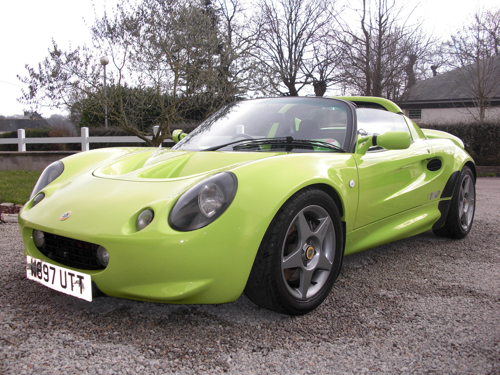 annonce vente lotus elise sport 160 scandal green mk1 ventes lotus elise elise british. Black Bedroom Furniture Sets. Home Design Ideas